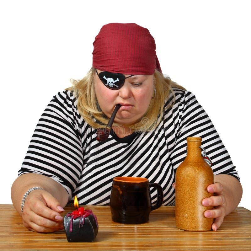 Мечта пиратов стоковые изображения rf