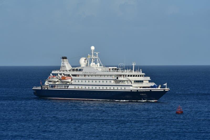 Мечта 1 причаливая Бриджтаун Барбадос моря стоковое фото