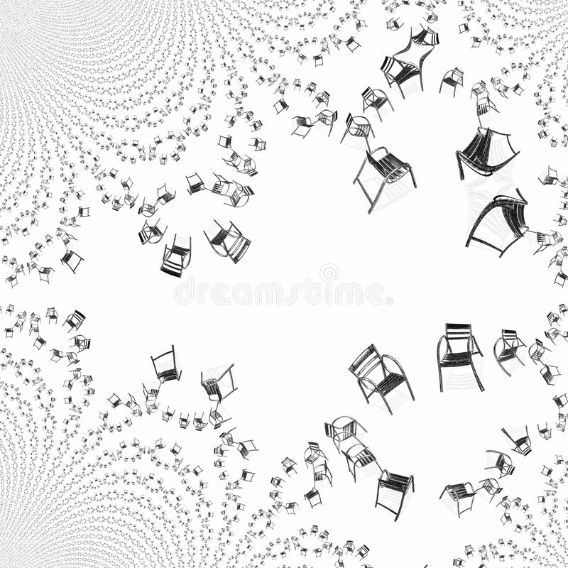 мечт группа иллюстрация штока
