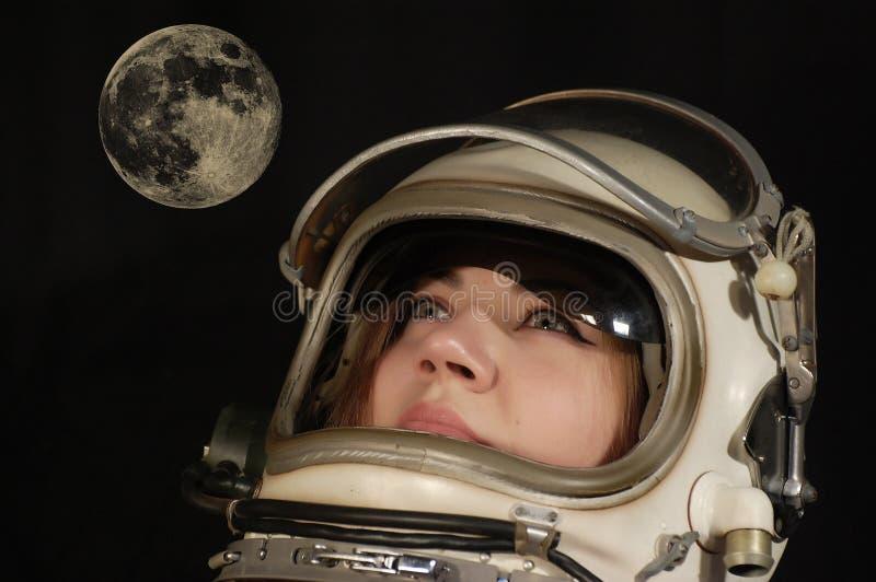 мечт лунное стоковое изображение