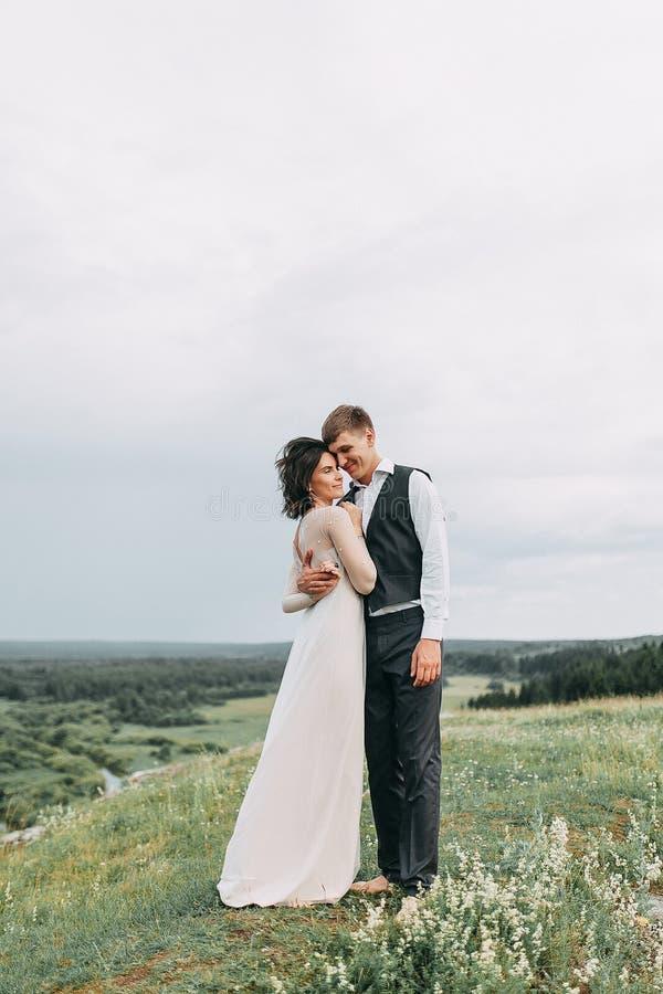 Мечт свадьба в горах стоковое фото rf