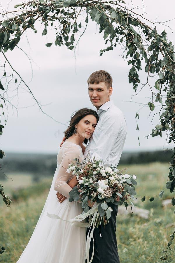 Мечт свадьба в горах стоковая фотография rf