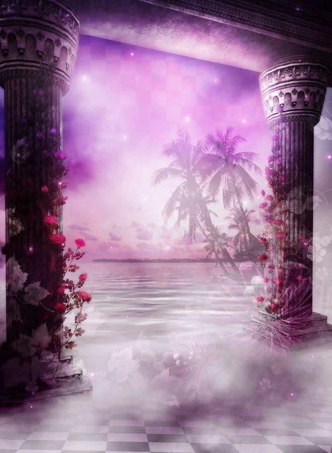 мечт тропическое иллюстрация штока