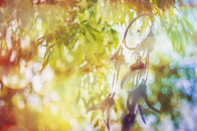 Мечт улавливатель в винтажном стиле стоковая фотография