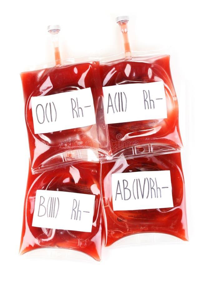 Мешки крови стоковая фотография rf
