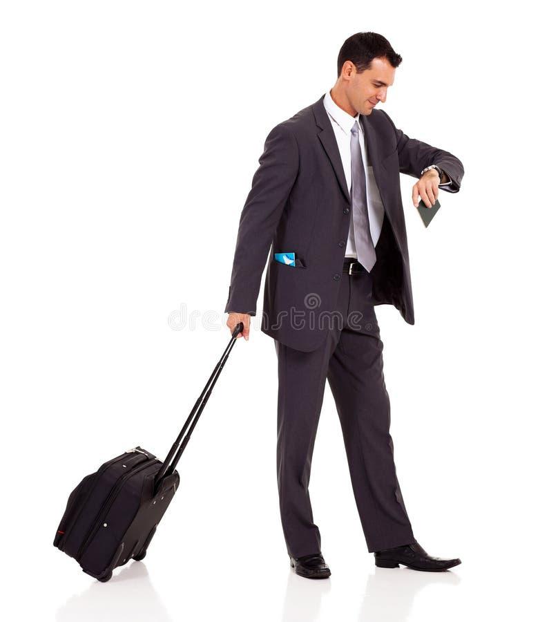 Мешок вагонетки бизнесмена Стоковые Фотографии RF