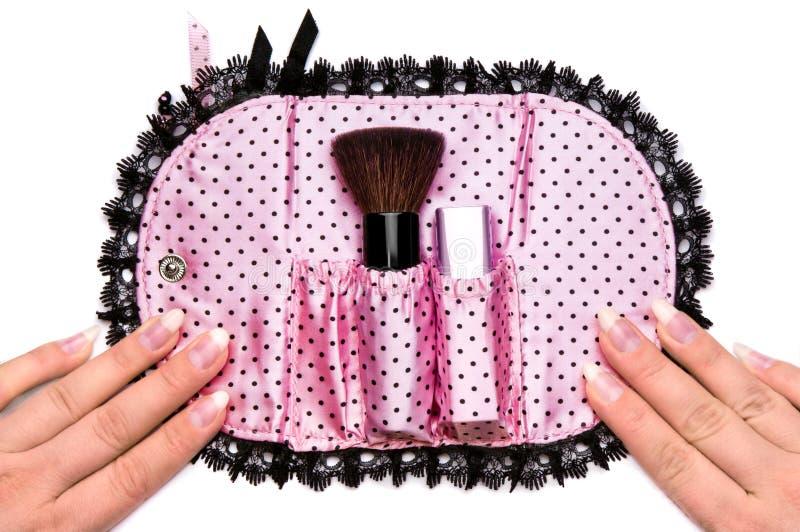 Мешок косметик стоковое изображение