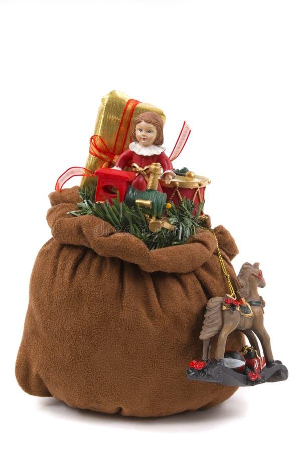 мешок s santa стоковое фото