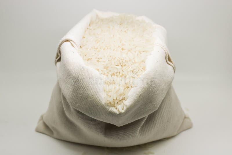 Мешочек из ткани риса стоковые фотографии rf