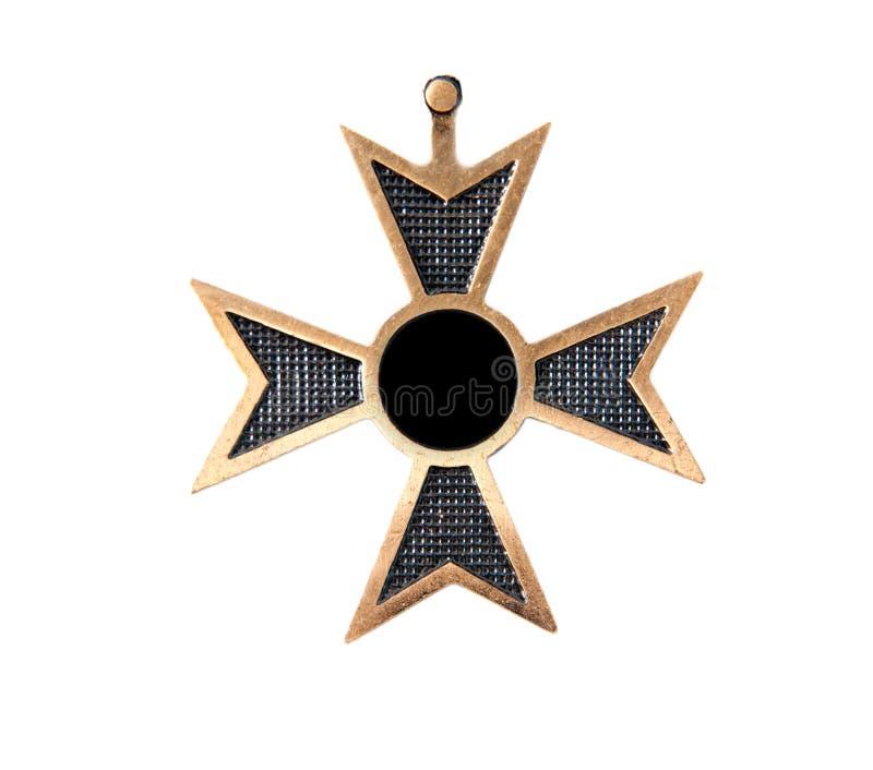 медаль старое стоковое изображение