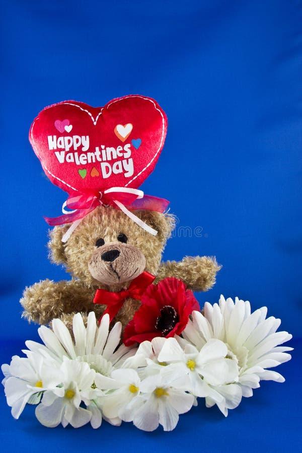 Медведь валентинки стоковое фото rf