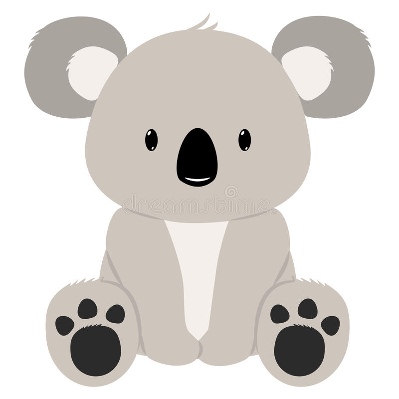 Медведь коалы иллюстрация вектора