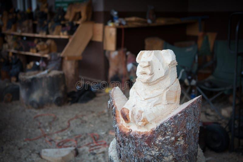 Медведь народного искусства стоковые фотографии rf