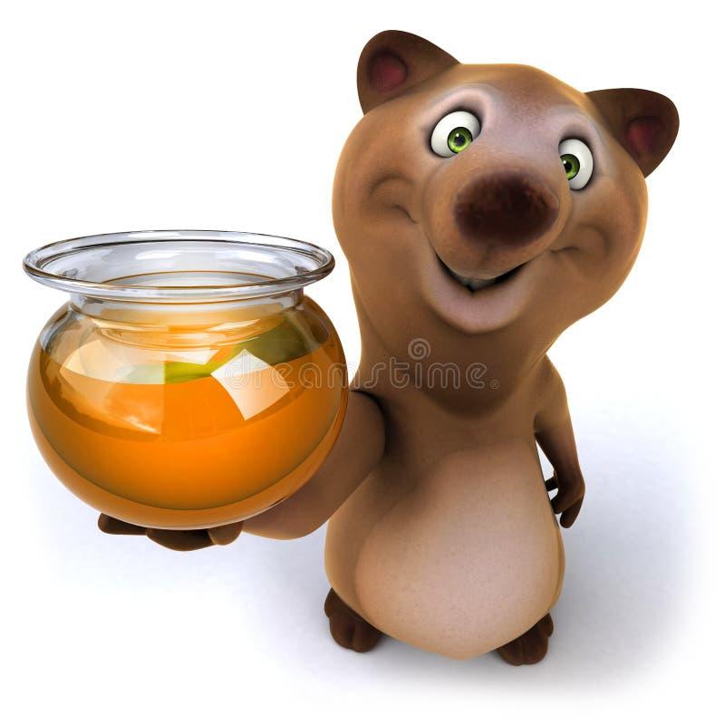 Медведь потехи иллюстрация штока