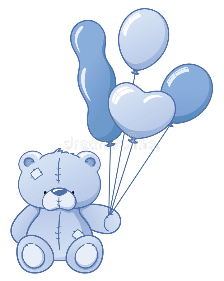 Медведь ребёнка иллюстрация вектора