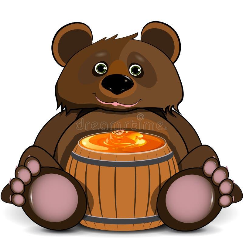 Медведь бочка меда картинки