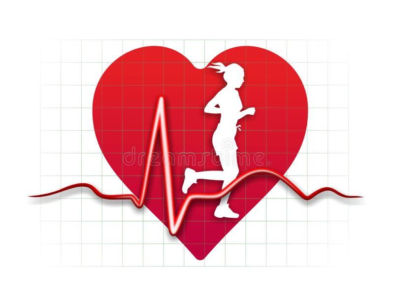 Медицина сердца иллюстрация вектора