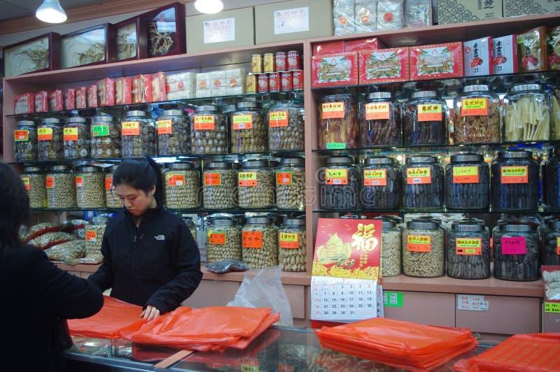 Медицина традиционного китайския стоковая фотография