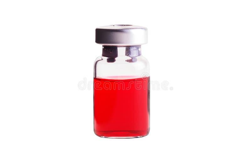 Download Медицинская ампула изолированная на белой предпосылке Стоковое Изображение - изображение насчитывающей иммунизирование, управление: 41659465