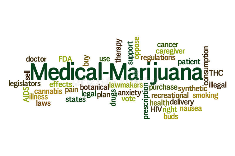 Медицинская марихуана бесплатная иллюстрация