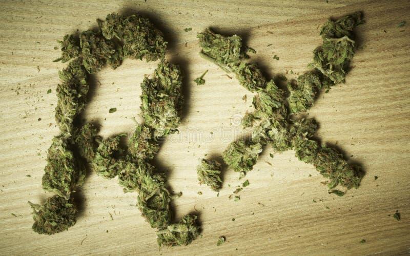 Медицинская предпосылка марихуаны стоковые изображения