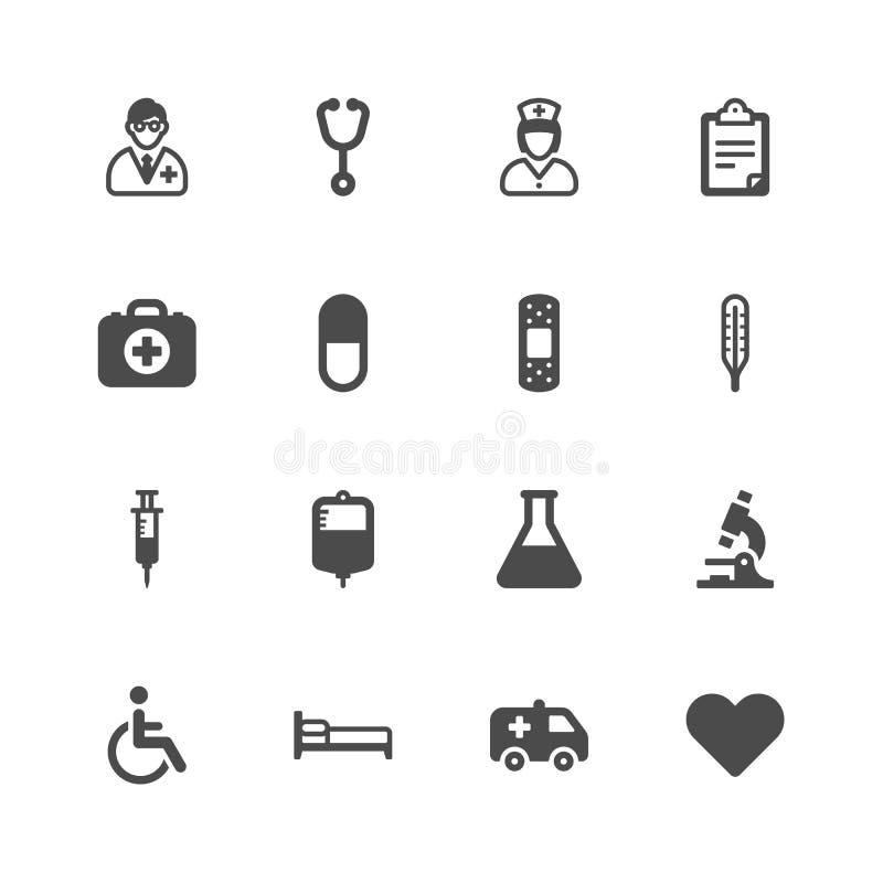 Медицинские значки бесплатная иллюстрация
