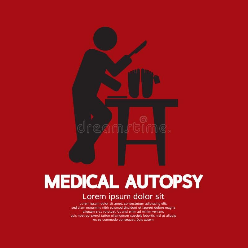 Медицинский график аутопсии бесплатная иллюстрация