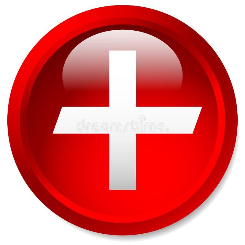 Download Медицинский, здравоохранение, скорая помощь плюс, перекрестный значок Лоснистый круг B Иллюстрация вектора - иллюстрации насчитывающей клиника, доктор: 81811963