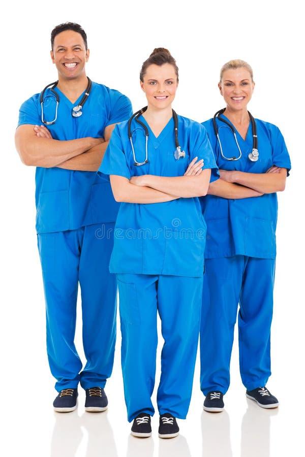 Медицинский портрет профессионалов стоковое фото