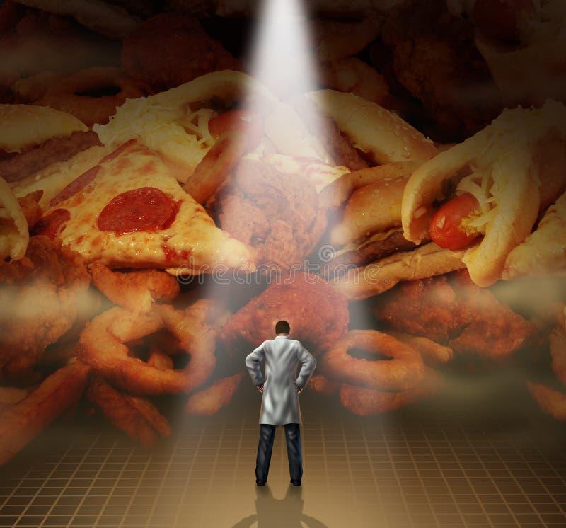 Медицинский совет диеты бесплатная иллюстрация