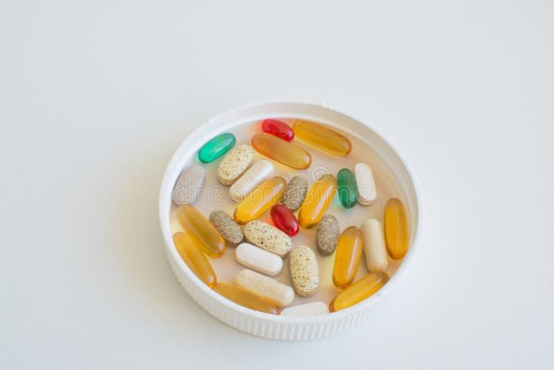 Медицины и питательные дополнения стоковое фото rf