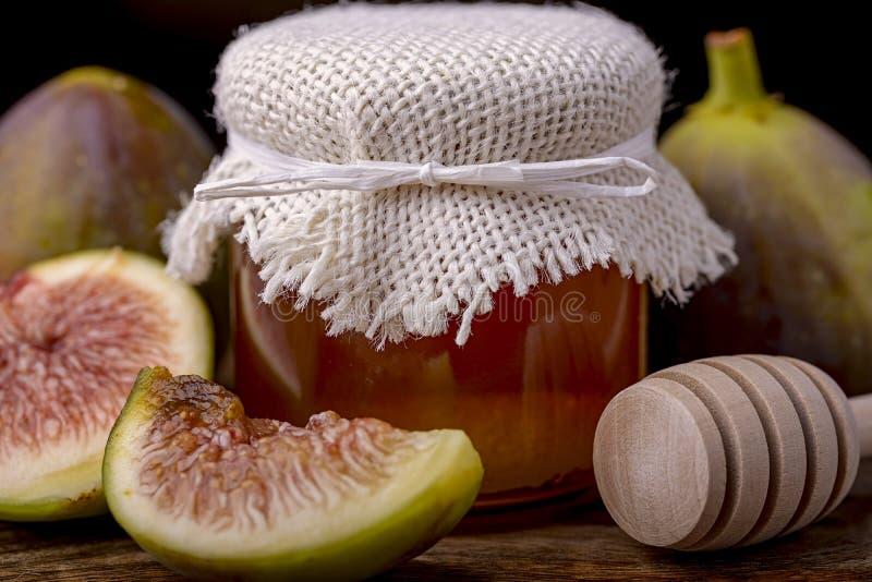 Мед и смоква стоковое фото rf