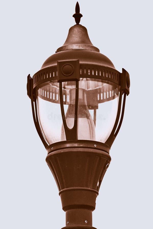 Медная лампа стоковая фотография rf