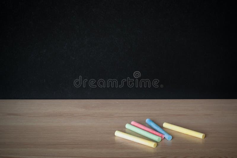 Мел на таблице класса стоковое фото rf