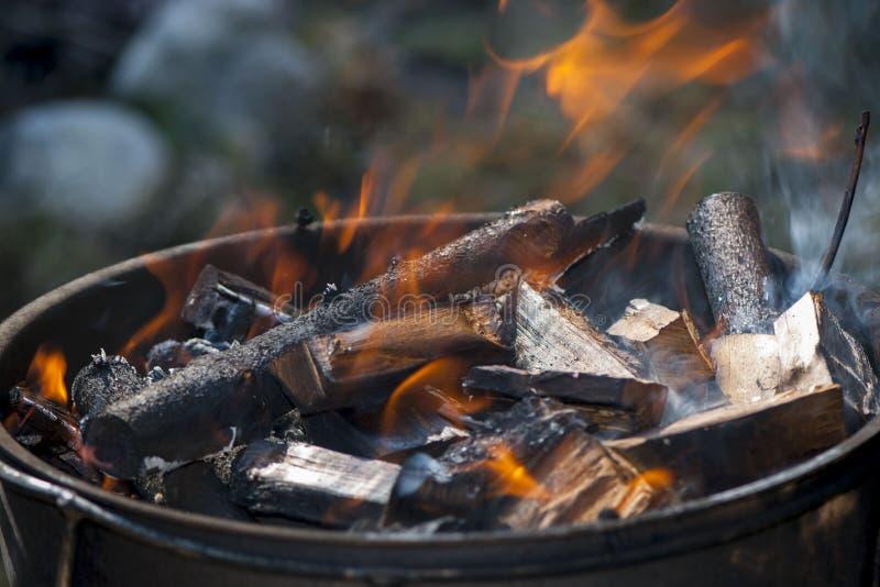 Download Медник лета барбекю стоковое фото. изображение насчитывающей campfire - 41662964