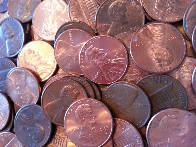 Медные деньги стоковое фото