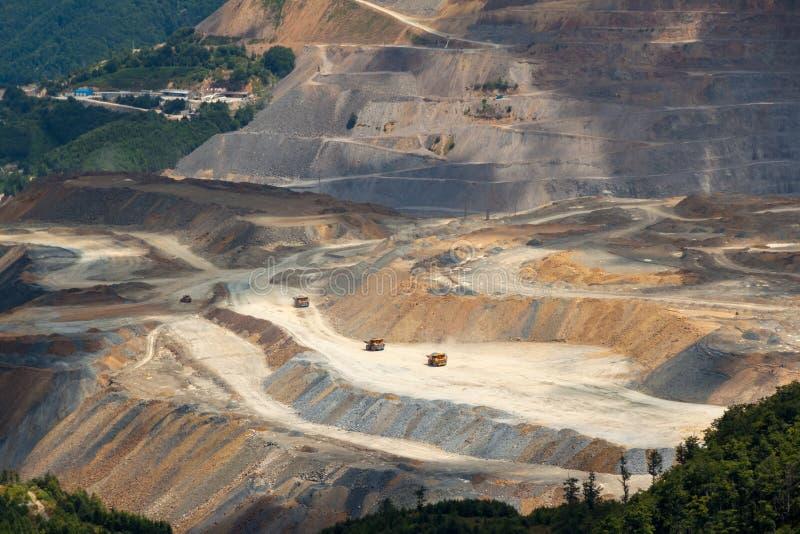 Медный рудник стоковая фотография rf