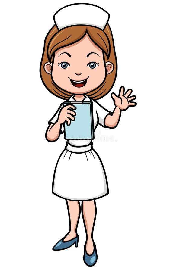 Медсестра бесплатная иллюстрация