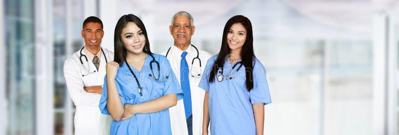 Медсестры и доктора стоковое изображение