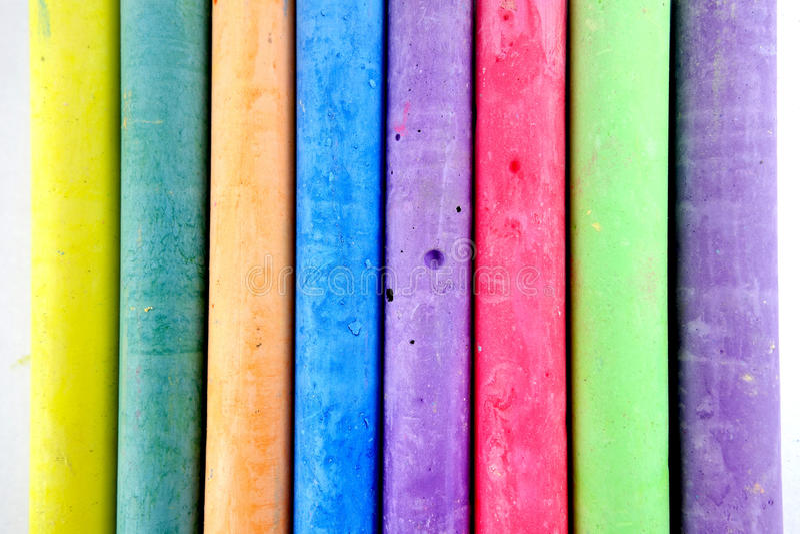 Мел цвета стоковое фото