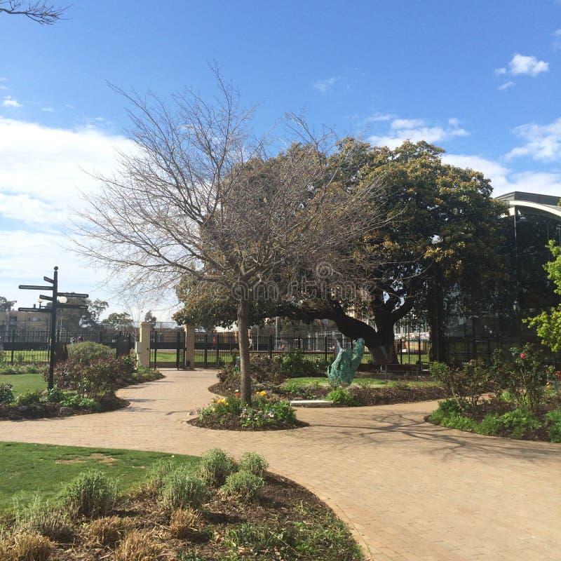 Мельбурн uni стоковая фотография