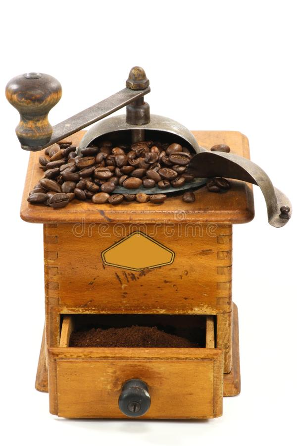 Мельница кофе стоковое изображение rf
