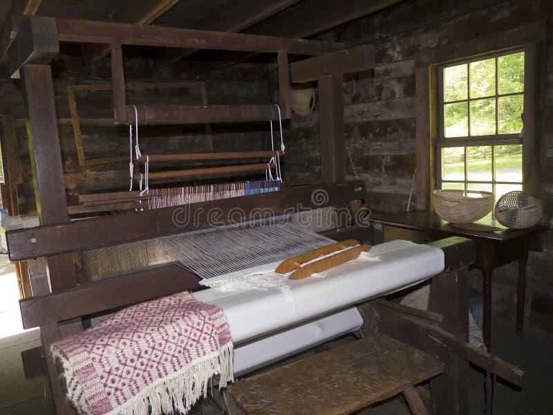 Мельница Mabry в горах голубого Риджа Вирджинии США стоковые изображения rf