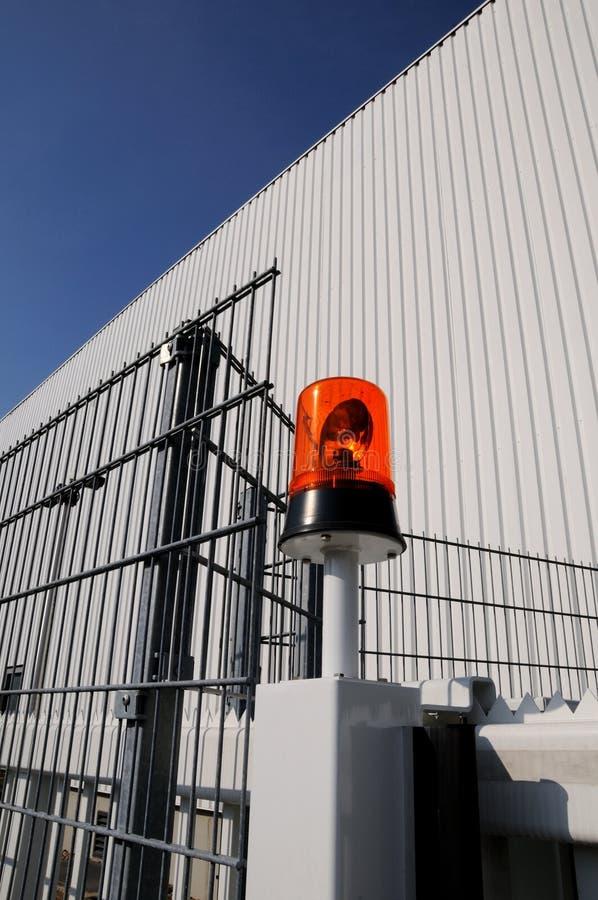 мигающего огня фабрики стоковое фото rf