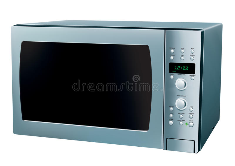 микроволновая печь бесплатная иллюстрация