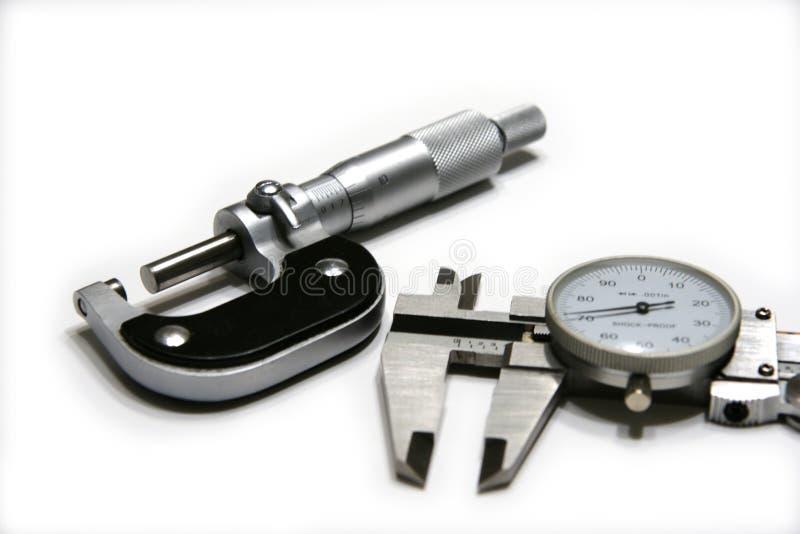микрометр крумциркуля стоковое изображение