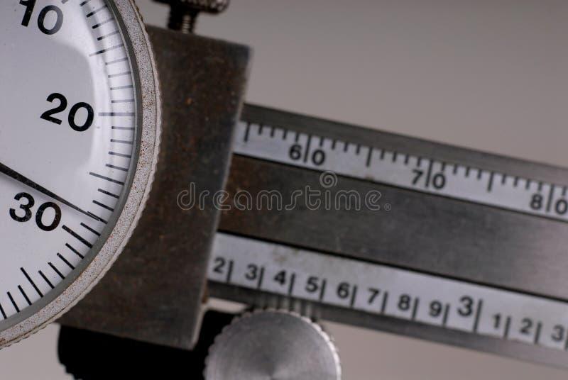 микрометр с циферблатом крумциркуля стоковое изображение rf
