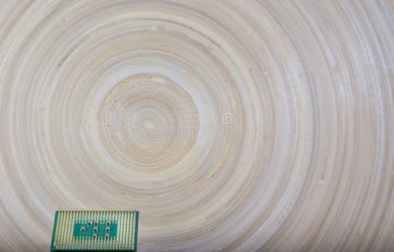 Микропроцессор - деталь крупного плана стоковое изображение rf