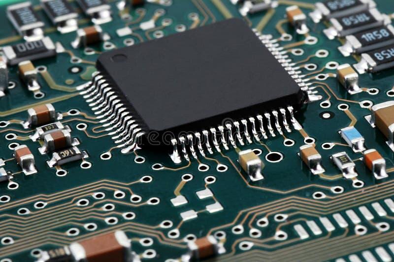 микросхема стоковое фото