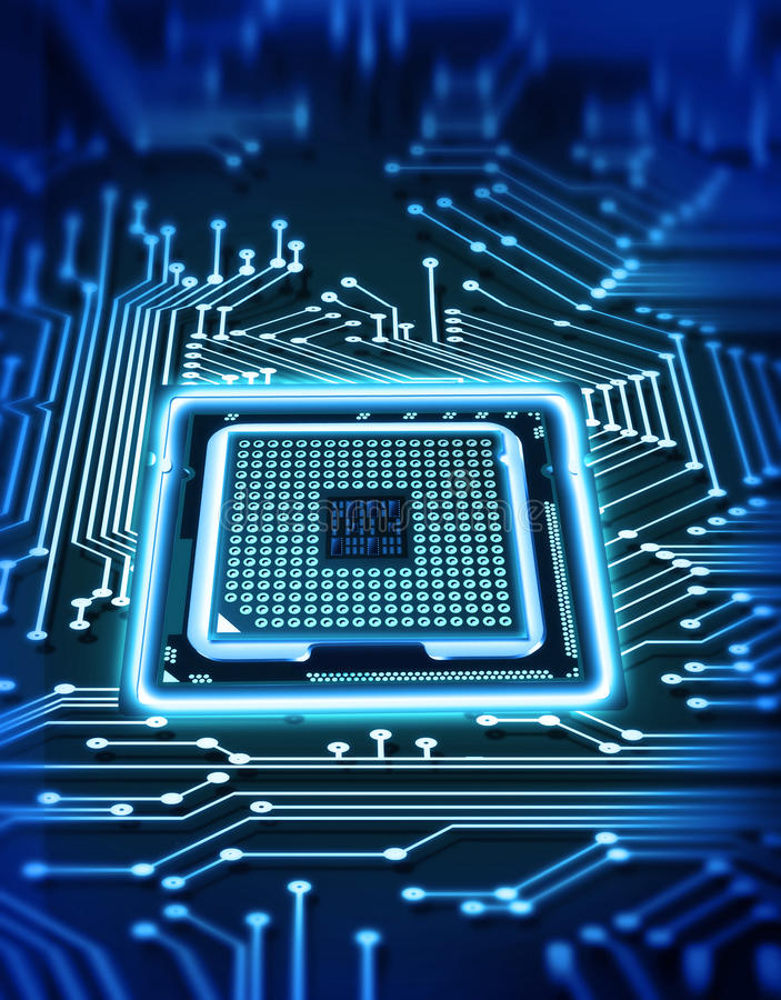 микросхема стоковые фото